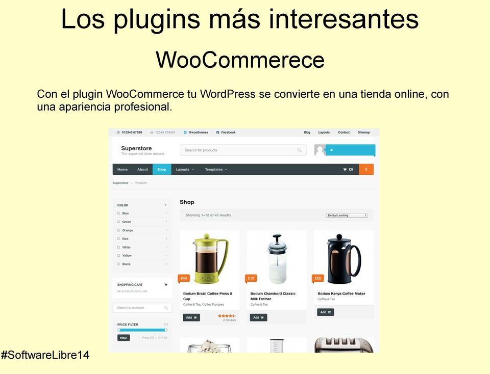 WooCommerce tu WordPress se