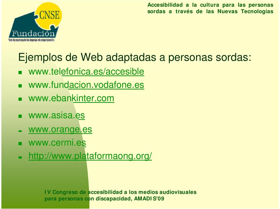es www.ebankinter.com www.asisa.es www.orange.
