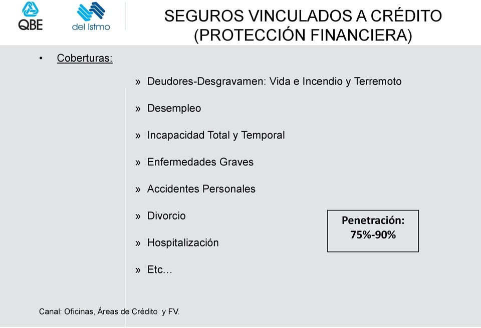 Total y Temporal» Enfermedades Graves» Accidentes Personales» Divorcio»