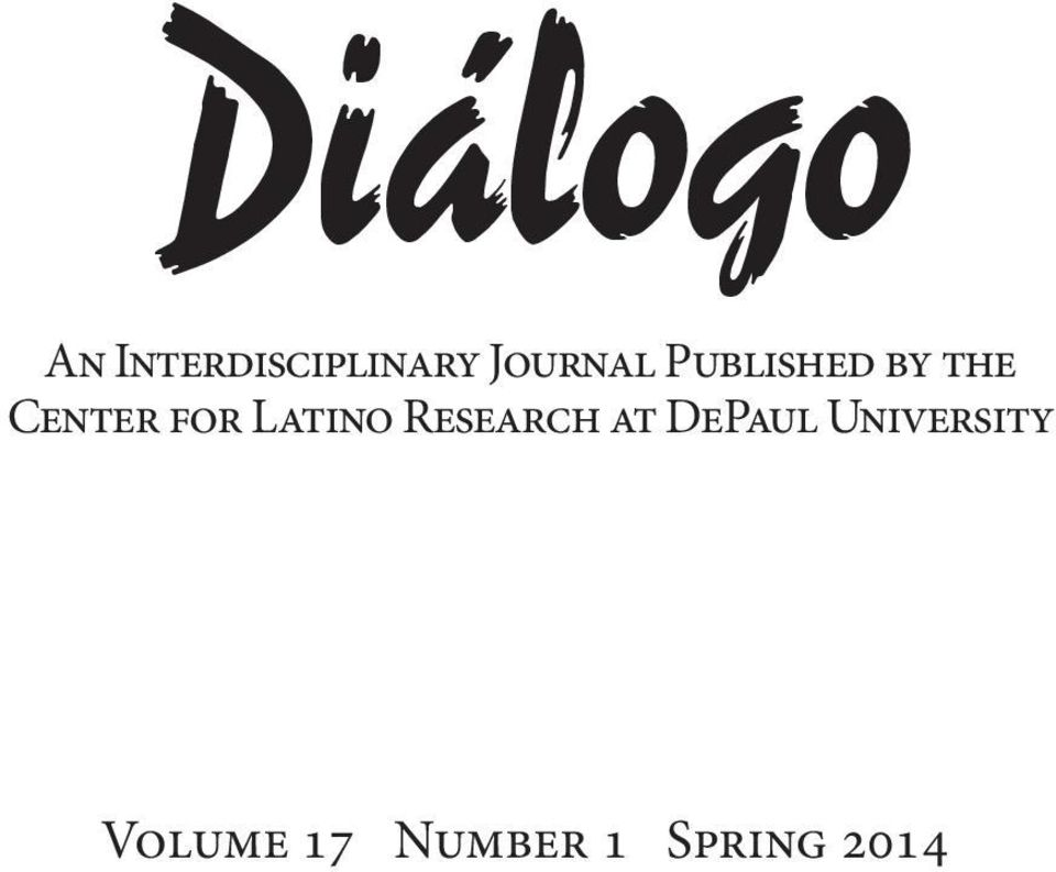 for Latino Research at DePaul