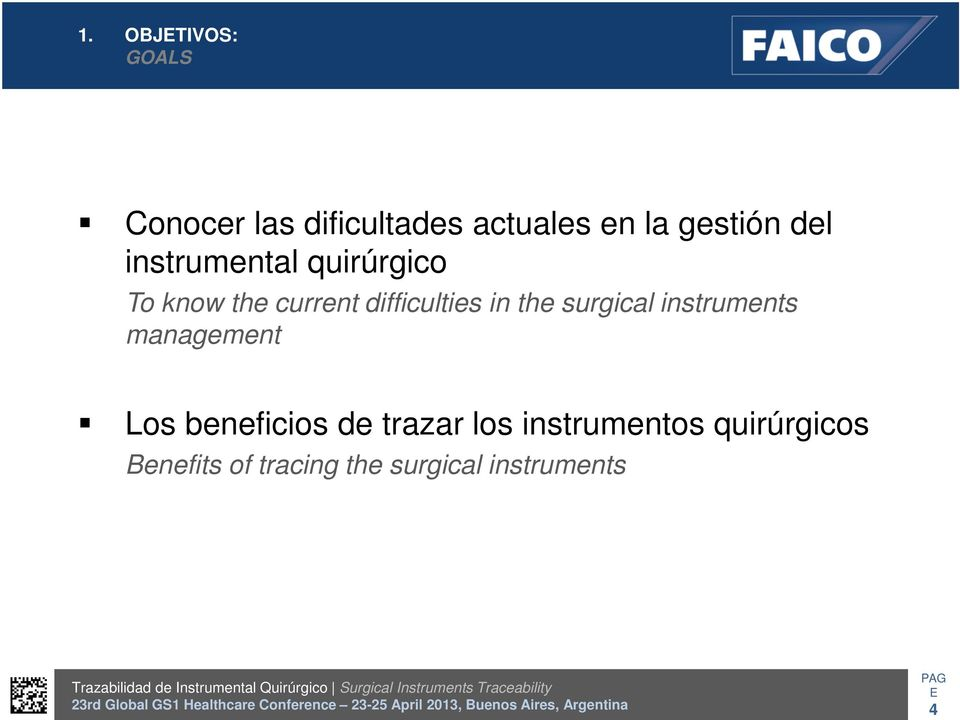 the surgical instruments management Los beneficios de trazar los