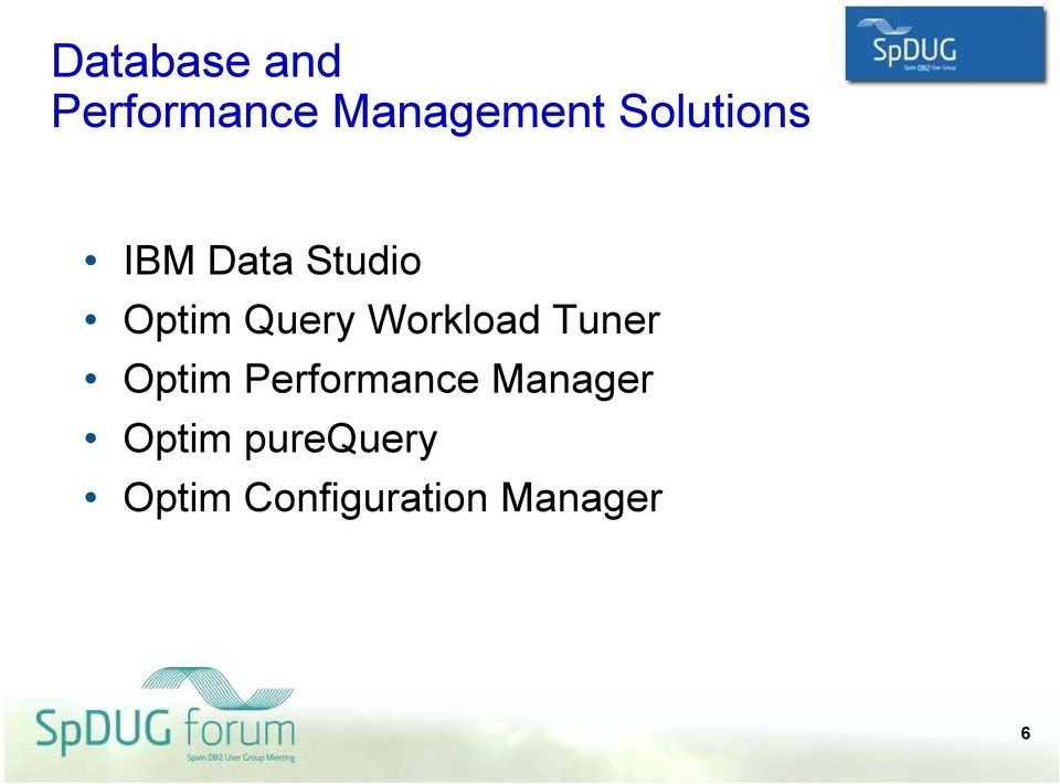 Workload Tuner Optim Performance