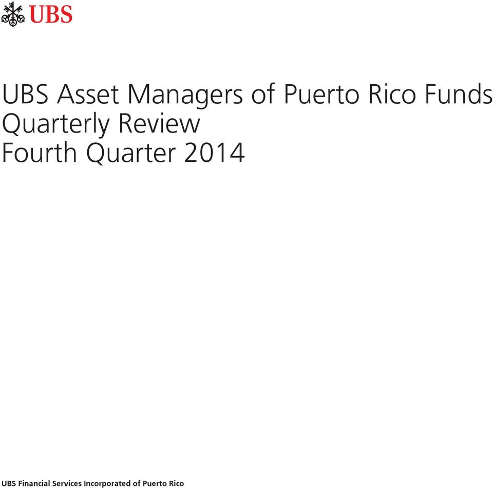 Fourth Quarter 2014 UBS