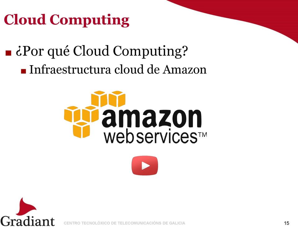 Infraestructura cloud de Amazon