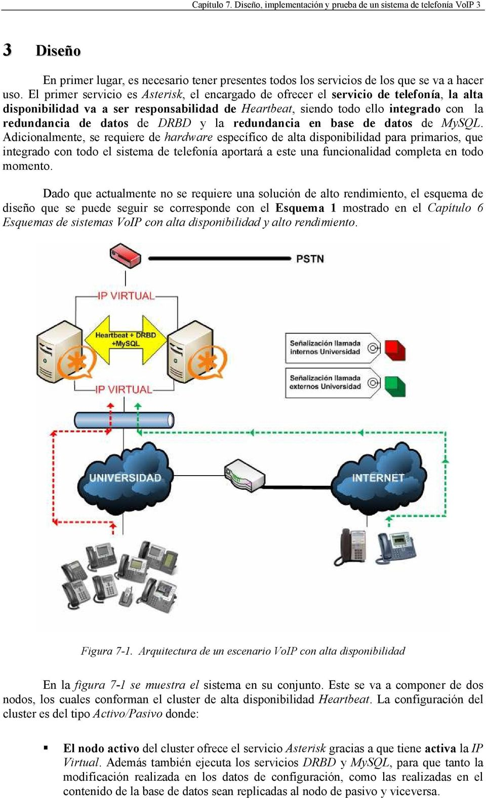 de DRBD y la redundancia en base de datos de MySQL.