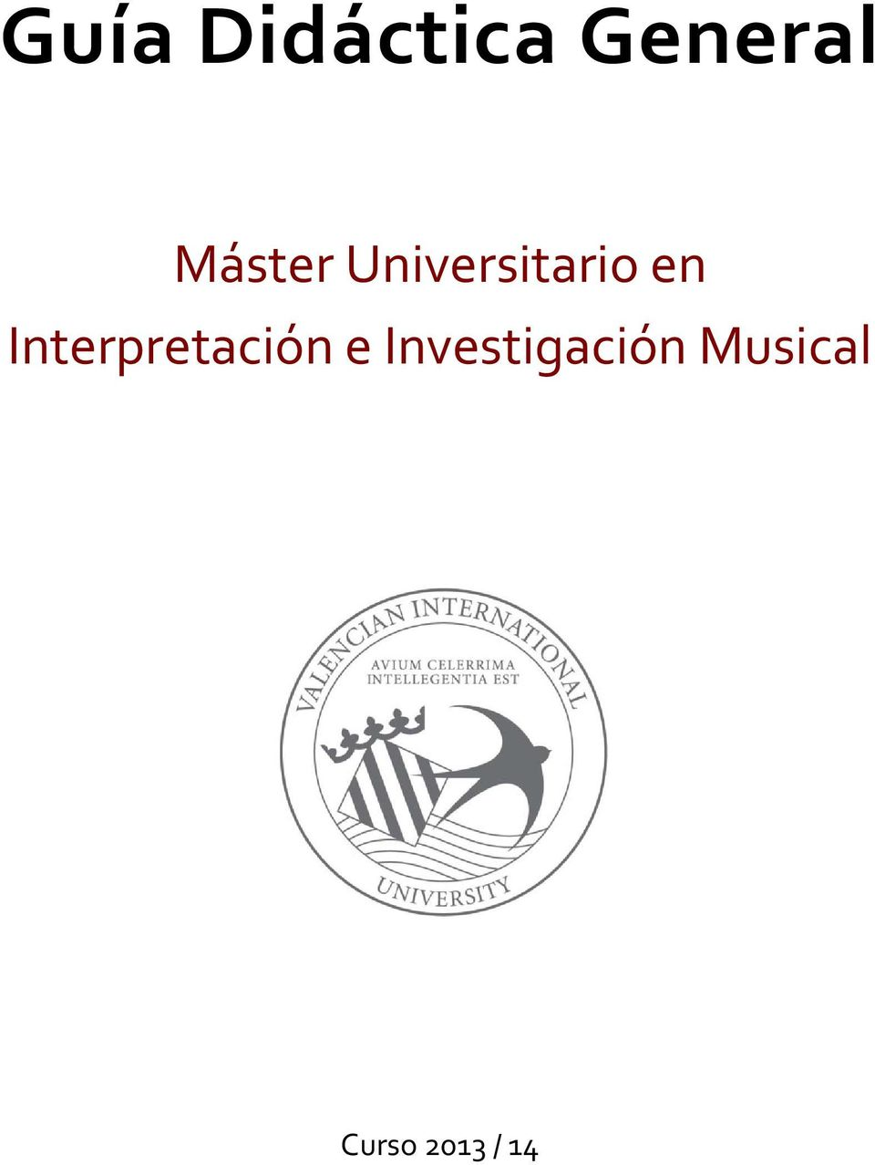 Interpretación e
