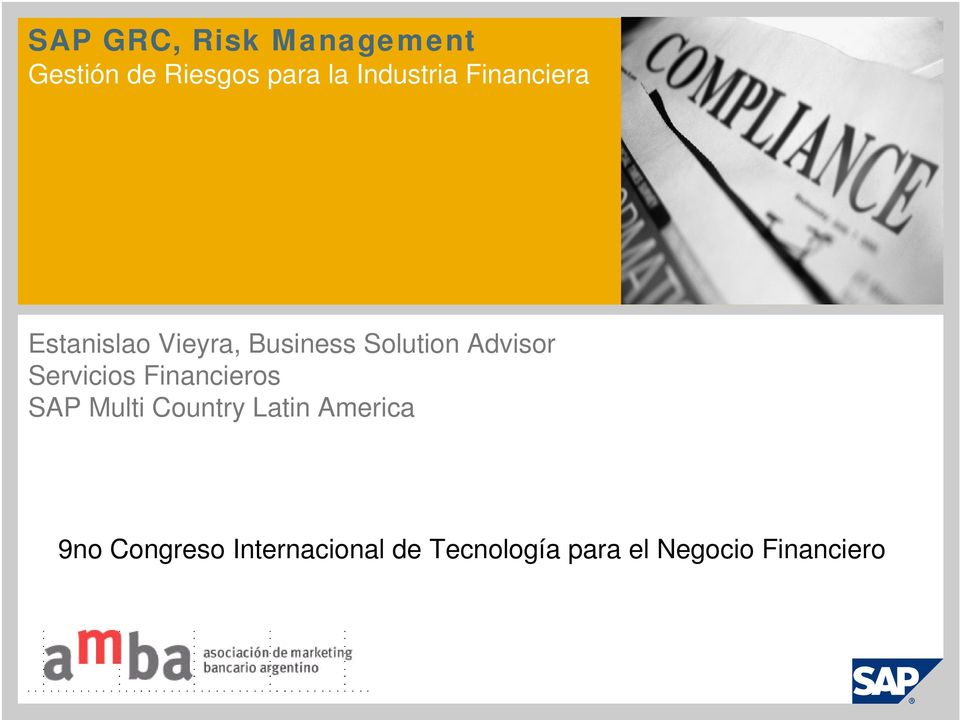 Advisor Servicios Financieros SAP Multi Country Latin