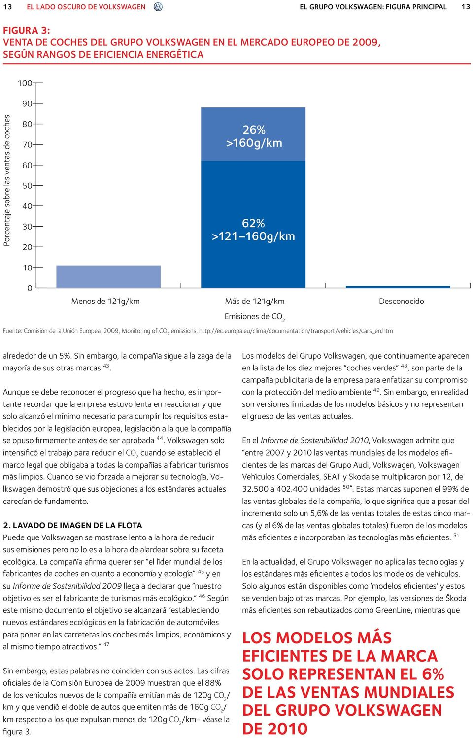 Fuente: Comisión de la Unión Europea, 2009, Monitoring of CO 2 emissions, http://ec.europa.eu/clima/documentation/transport/vehicles/cars_en.htm alrededor de un 5%.