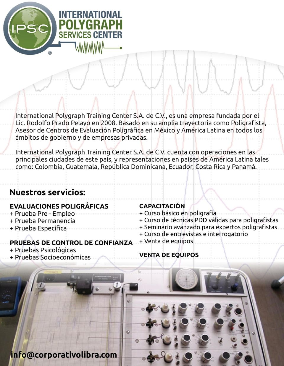 International Polygraph Training Center S.A. de C.V.