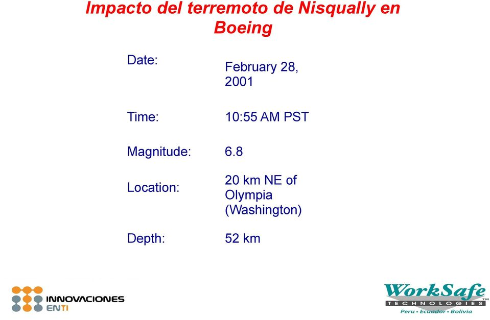 Depth: February 28, 2001 10:55 AM PST 6.