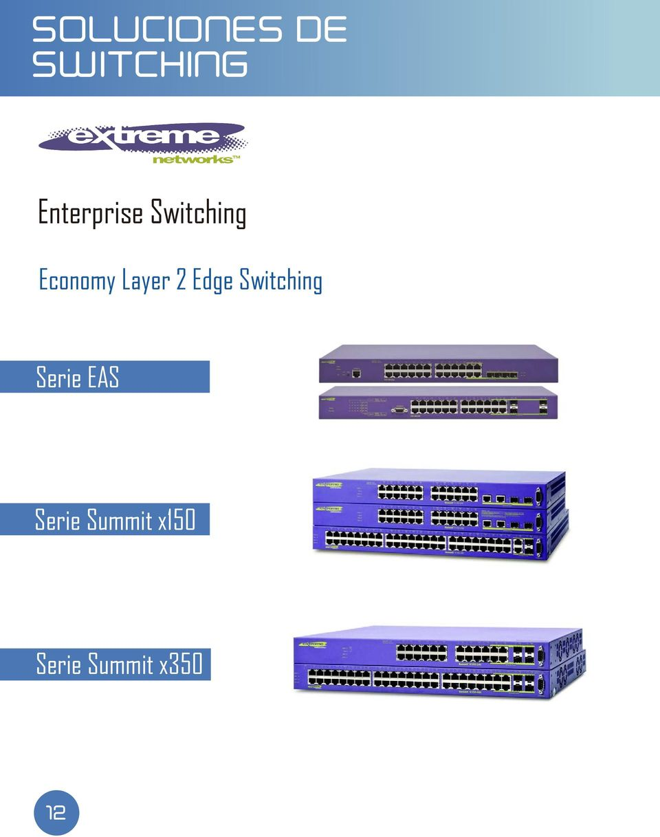 Layer 2 Edge Switching Serie