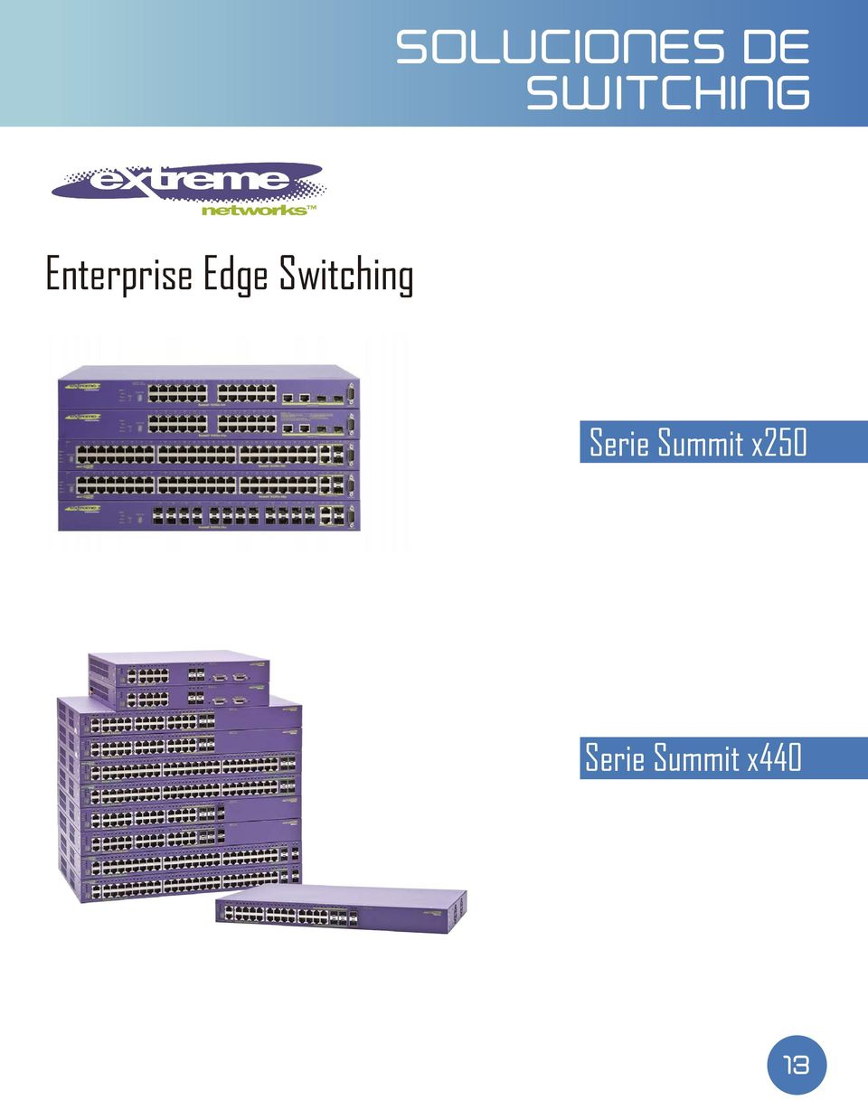 Edge Switching Serie