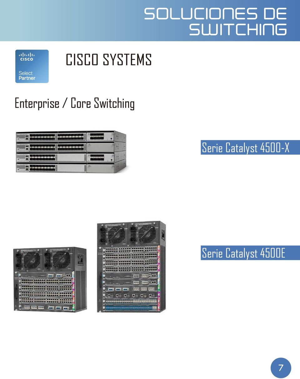 Core Switching Serie
