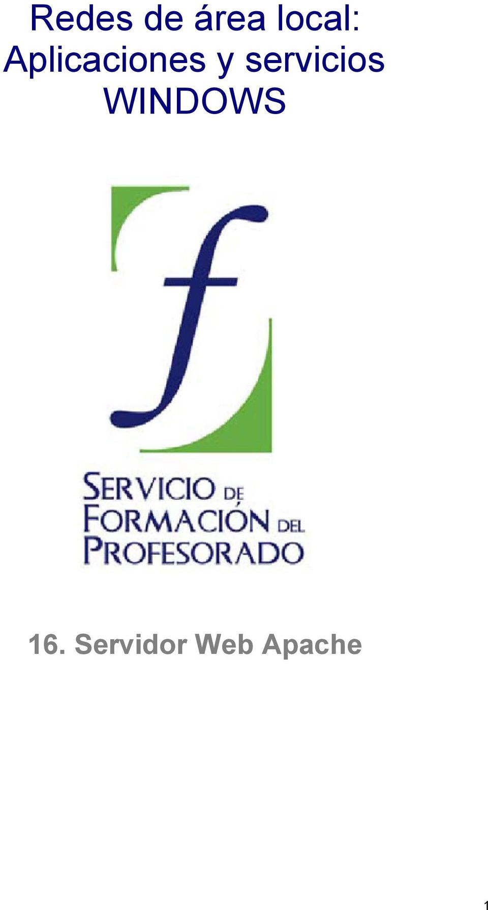 y servicios WINDOWS