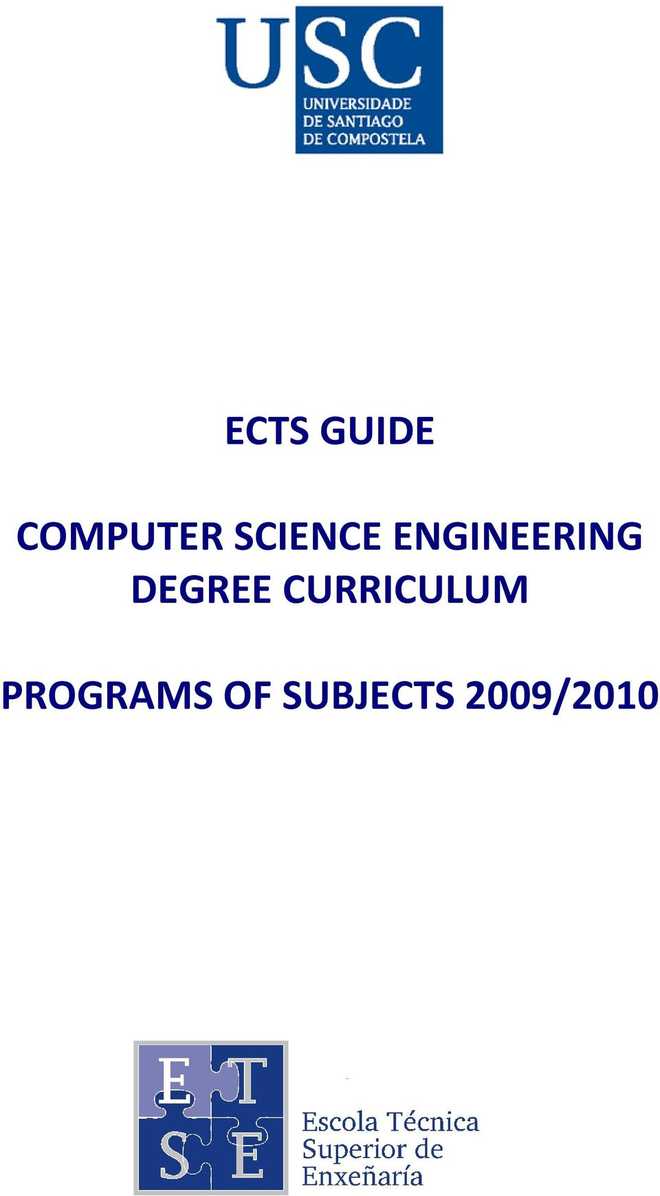 DEGREE CURRICULUM