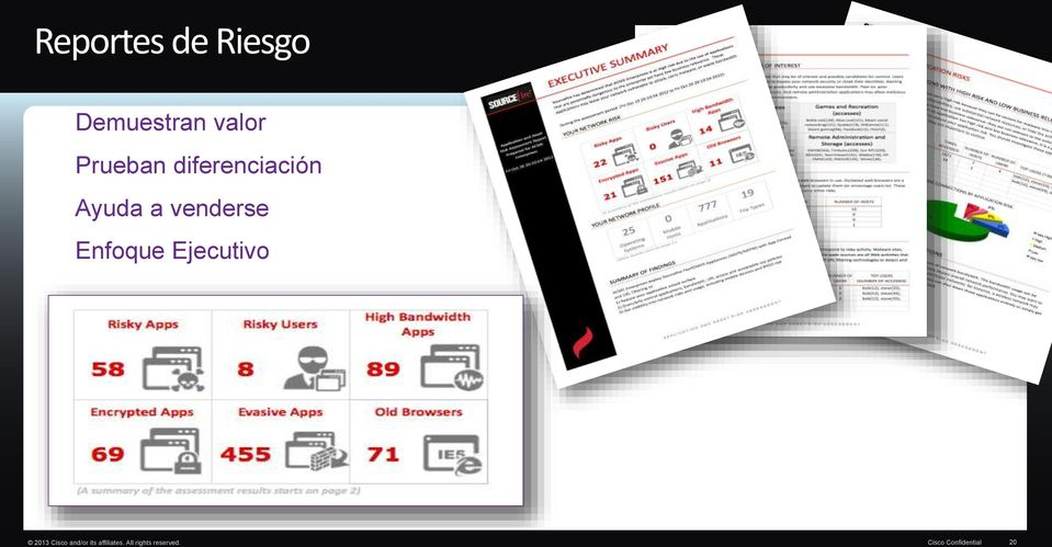 Enfoque Ejecutivo 2013 Cisco and/or its
