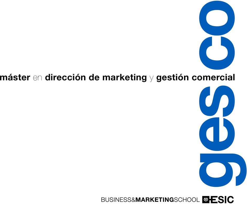 de marketing y