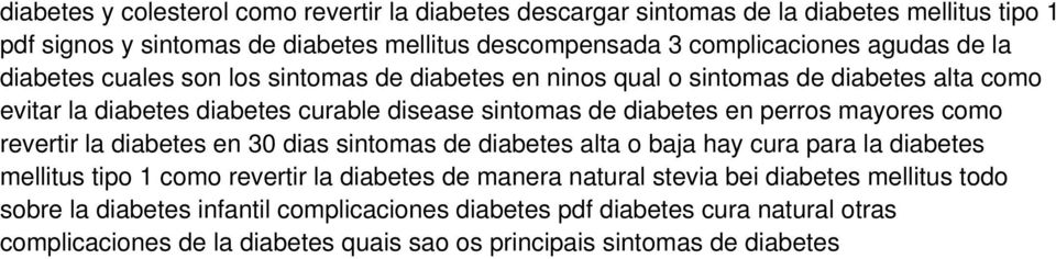 perros mayores como revertir la diabetes en 30 dias sintomas de diabetes alta o baja hay cura para la diabetes mellitus tipo 1 como revertir la diabetes de manera natural