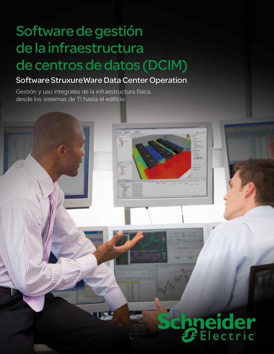 Software StruxureWare Data Center Operation Gestión y uso integrales