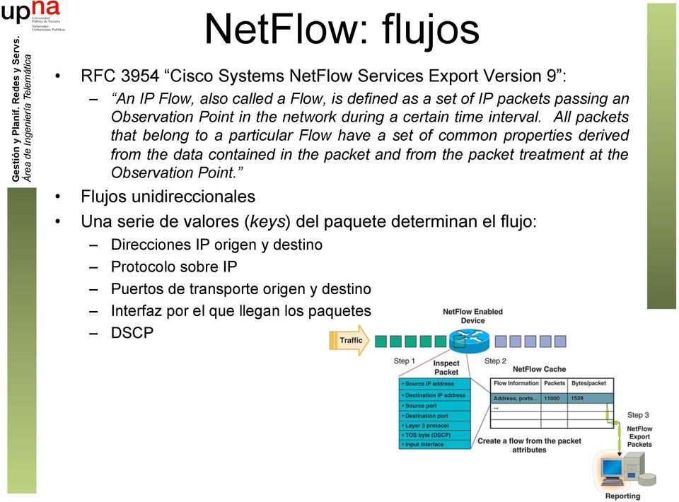 All packets that belong to a particular Flow have a set of common properties derived from the data contained in the packet and from the packet treatment