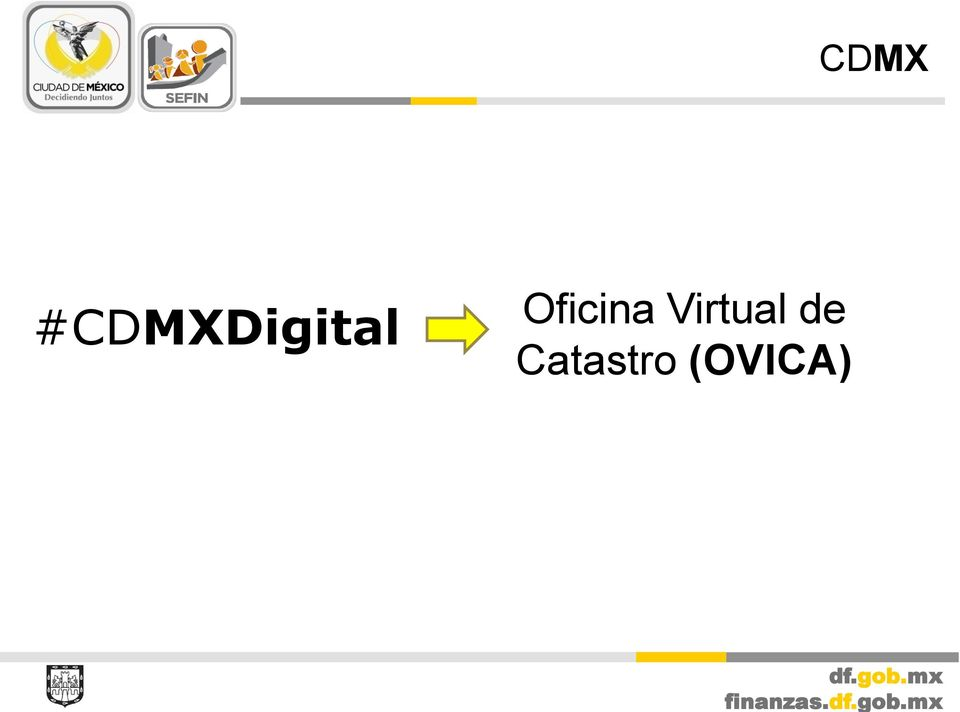 Cdmxdigital las nuevas tecnolog as al servicio del for Oficina virtual del catastro