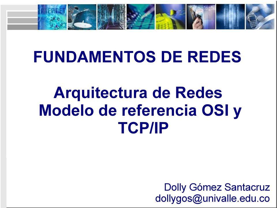 de referencia OSI y TCP/IP