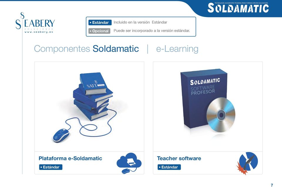 Componentes Soldamatic e-learning