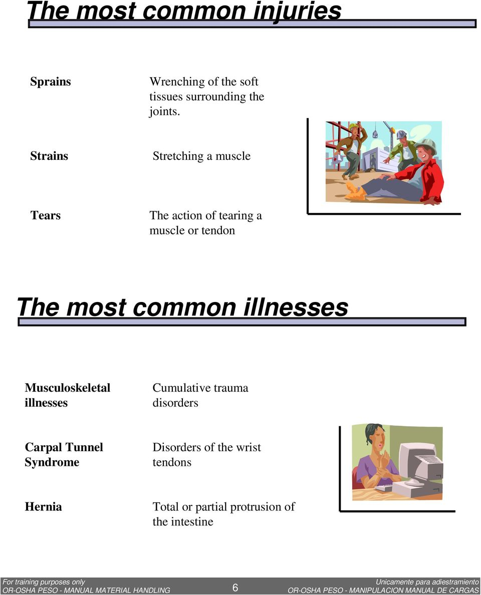 illnesses Musculoskeletal illnesses Cumulative trauma disorders Carpal Tunnel Syndrome Disorders