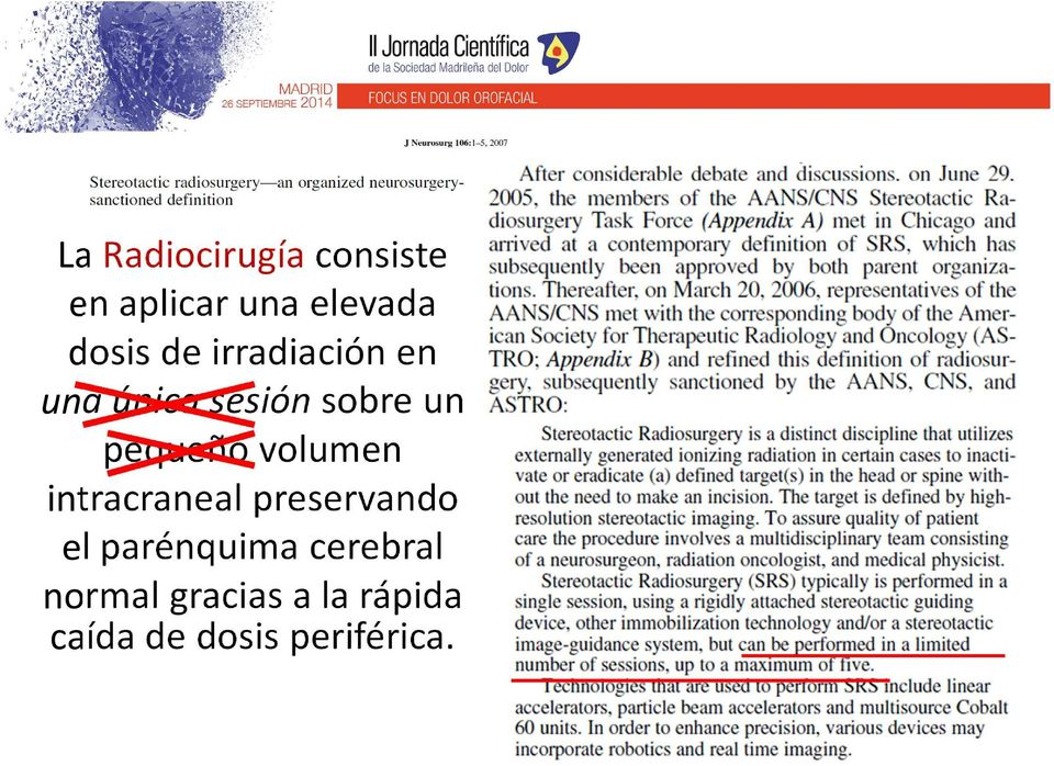 volumen intracraneal preservando el parénquima