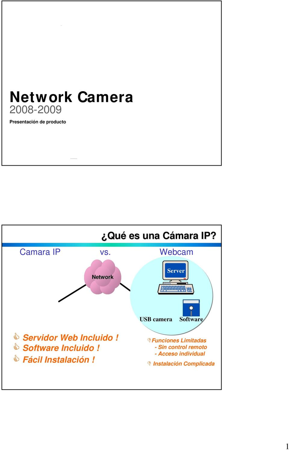 Webcam Network Server USB camera Software Servidor Web Incluido!