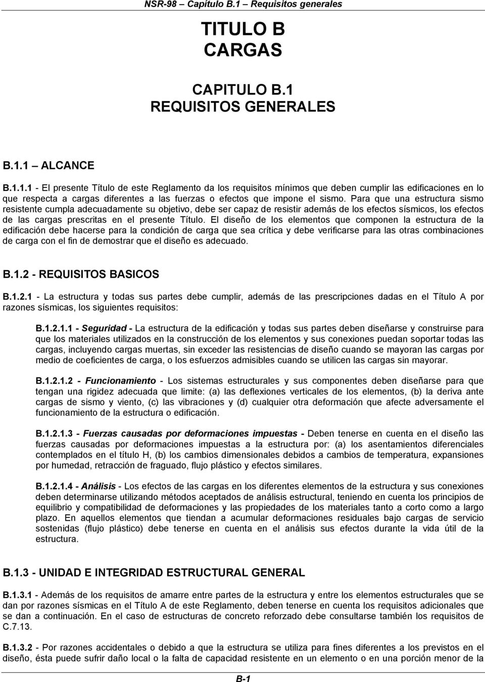 REQUISITOS GENERALES B.1.