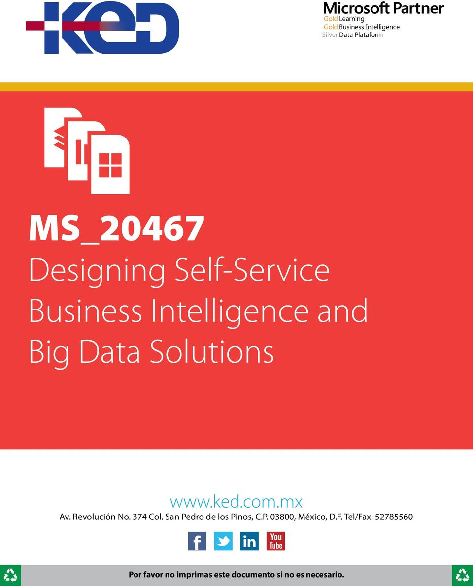 Intelligence and Big Data Solutions www.ked.com.