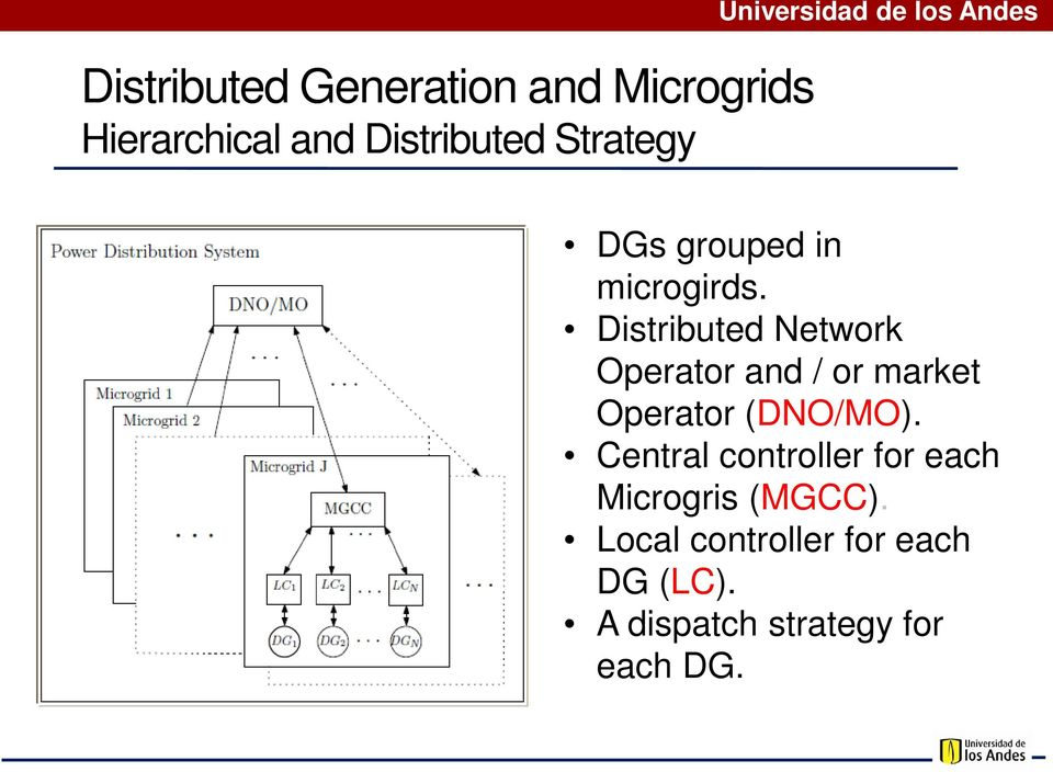 Distributed Network Operator and / or market Operator (DNO/MO).
