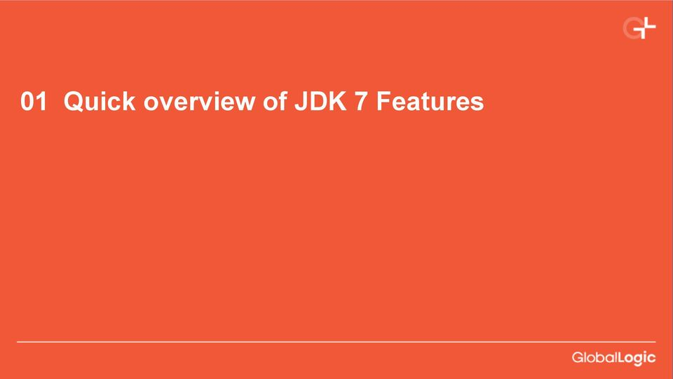of JDK 7