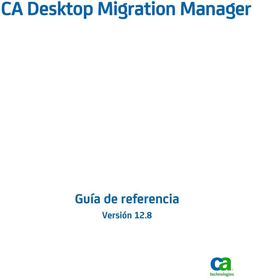 Manager Guía