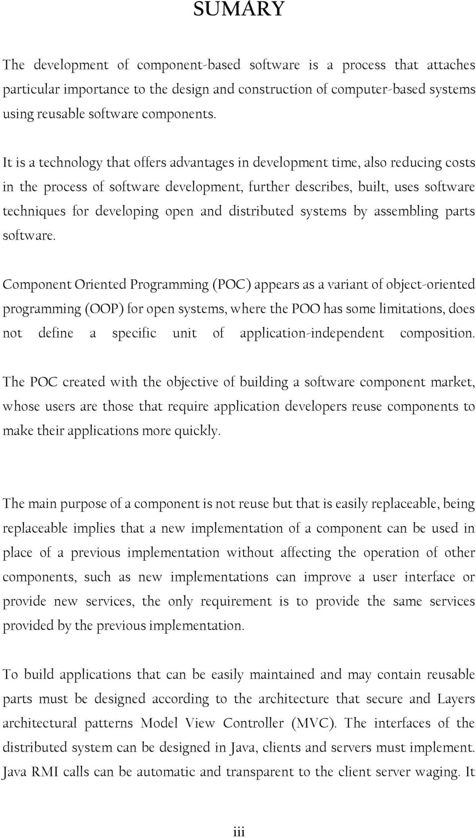 distributed systems by assembling parts software.