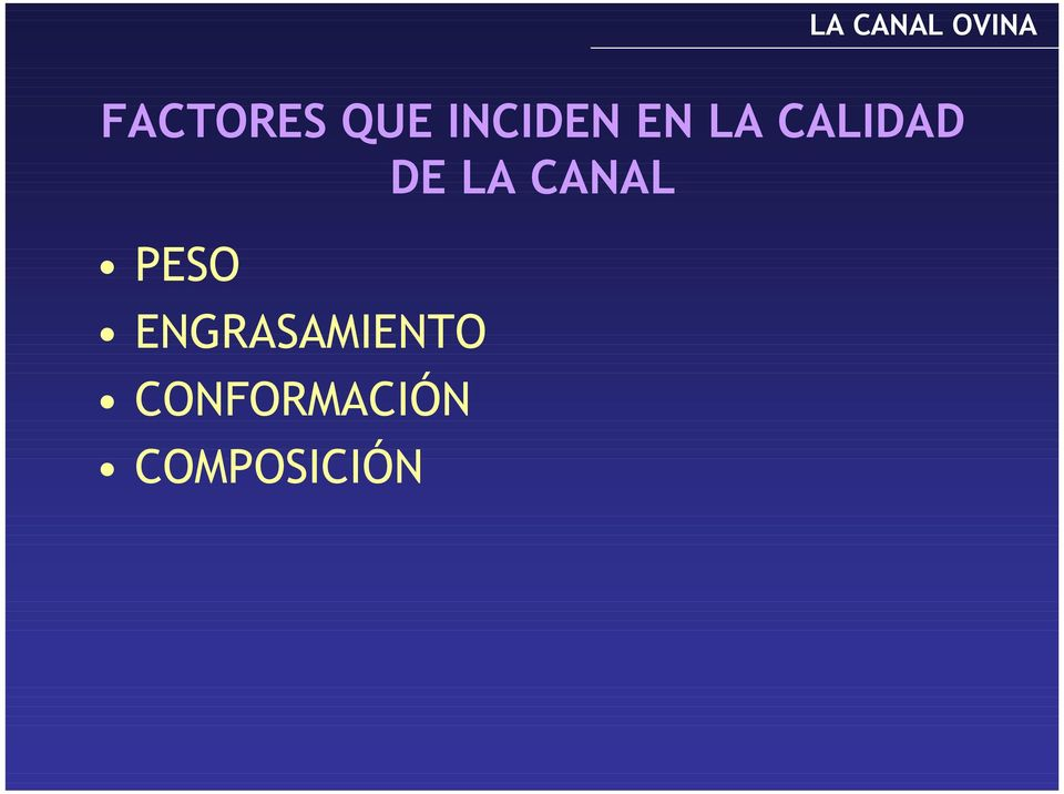 CANAL PESO