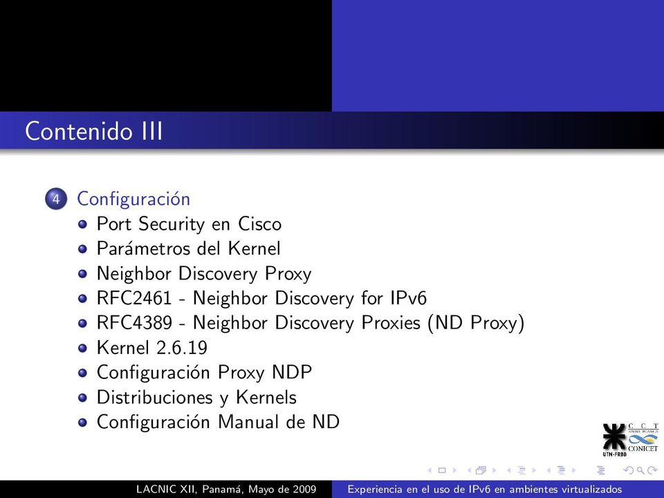 IPv6 RFC4389 - Neighbor Discovery Proxies (ND Proxy) Kernel 2.6.19