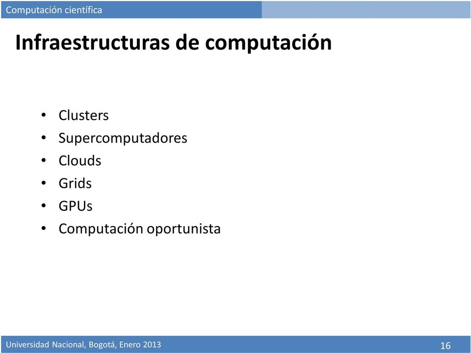 Supercomputadores Clouds