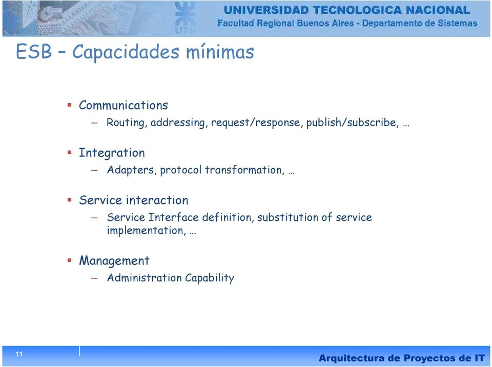 transformation, Service interaction Service Interface definition,