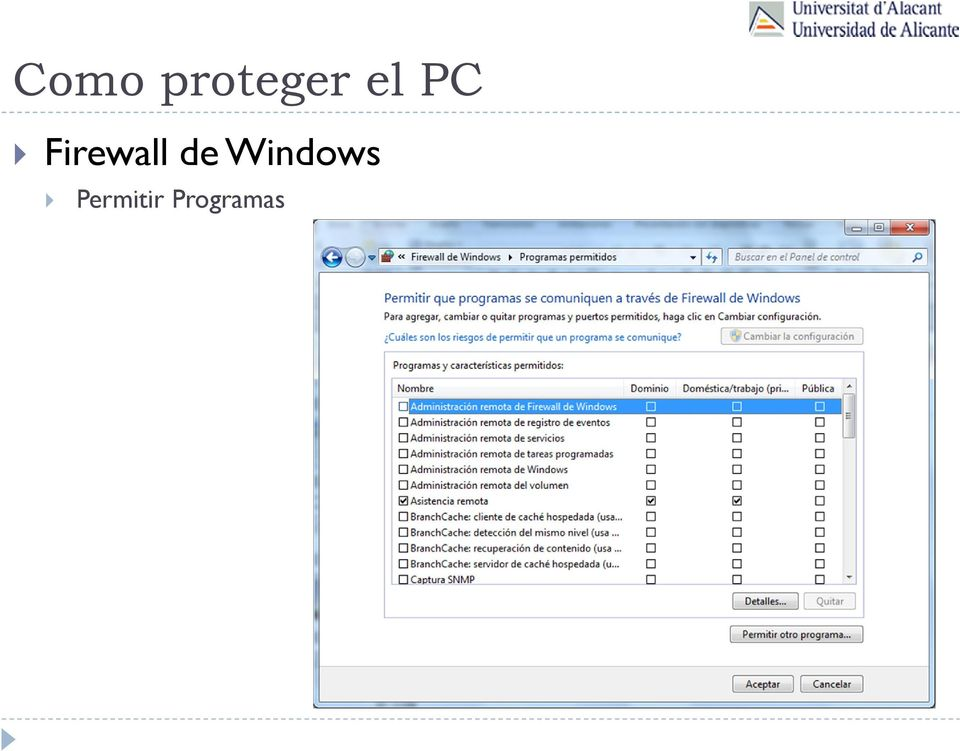 de Windows