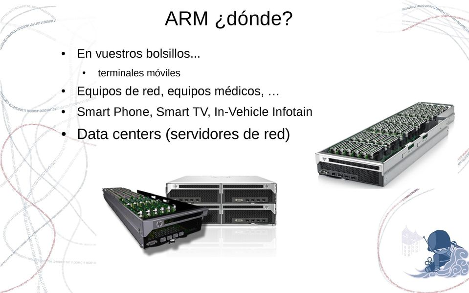 equipos médicos, Smart Phone, Smart TV,