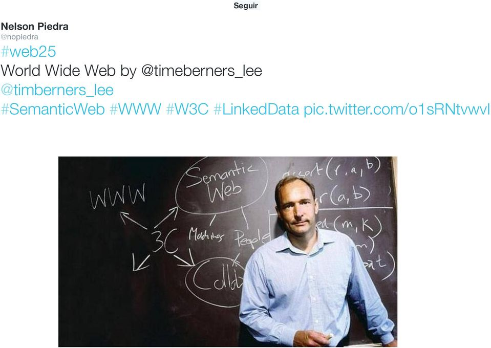 Wide Web by @timeberners_lee