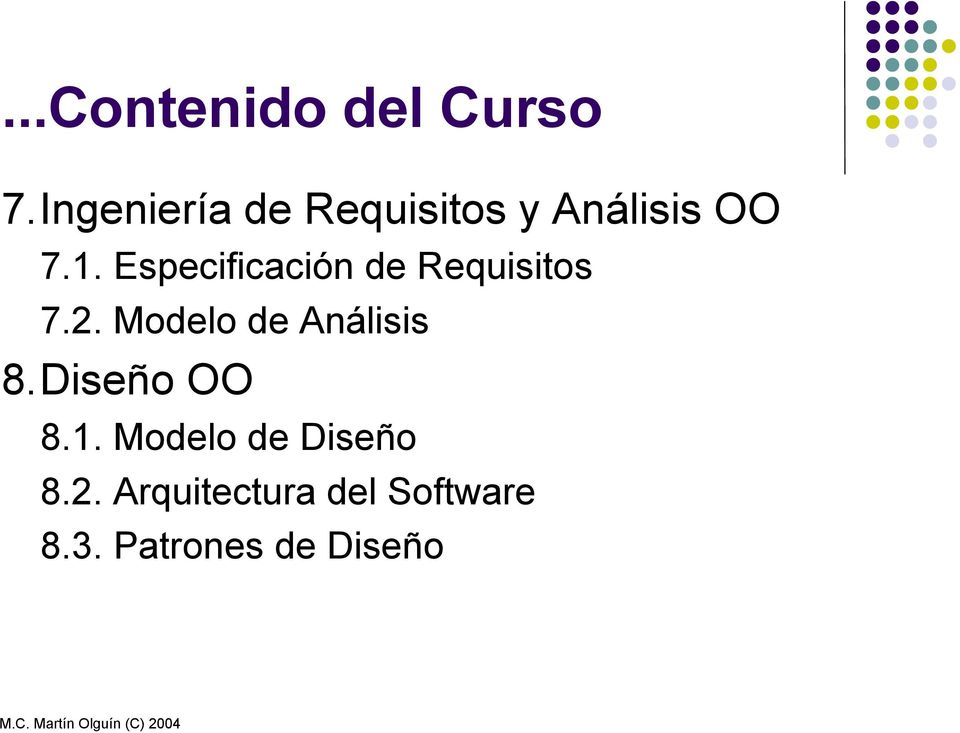 Especificación de Requisitos 7.2.