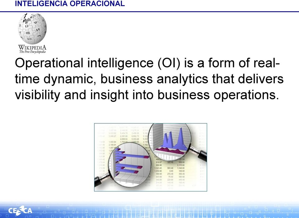 dynamic, business analytics that delivers