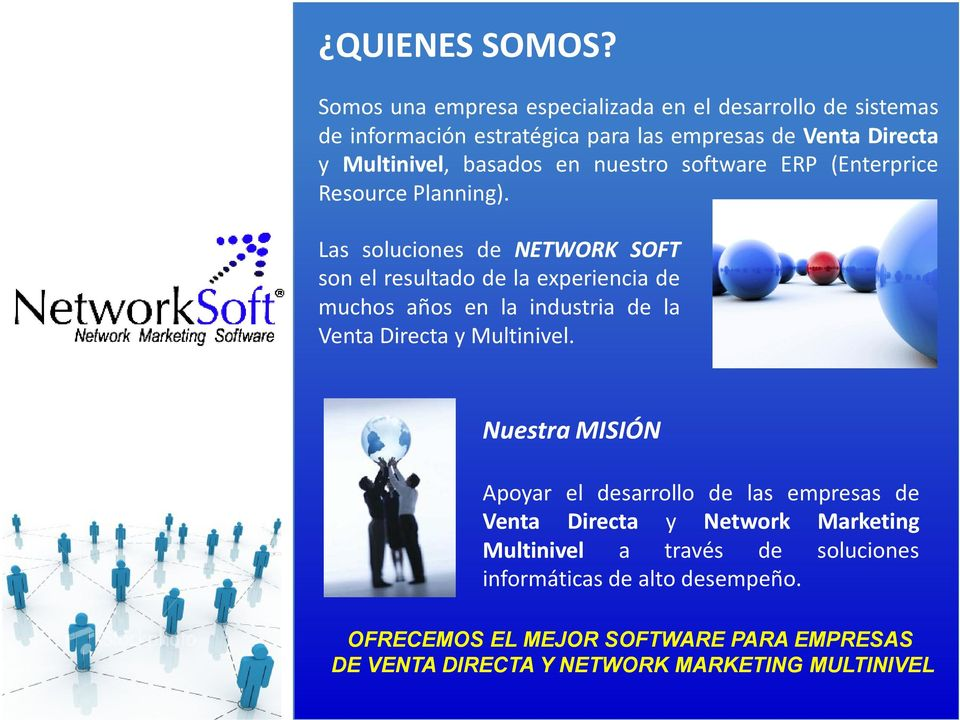 nuestro software ERP (Enterprice Resource Planning).