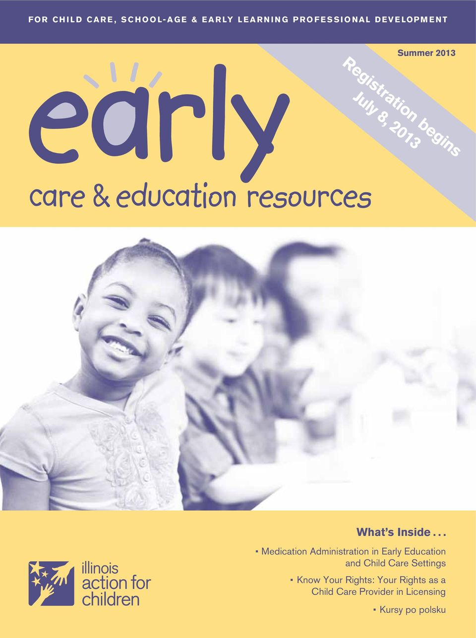 .. Medication Administration in Early Education and Child Care Settings