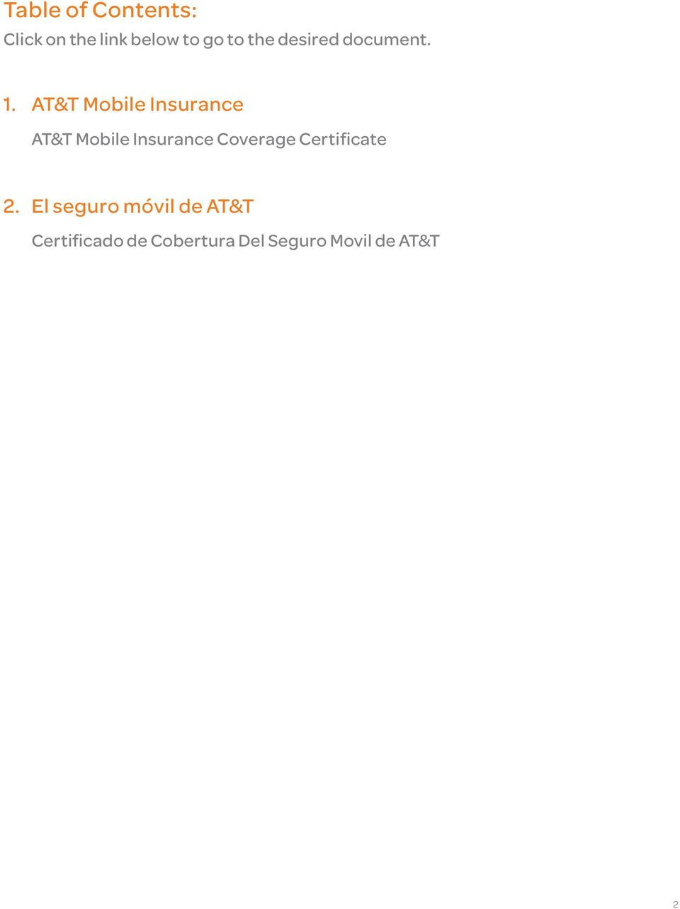 AT&T Mobile Insurance AT&T Mobile Insurance Coverage