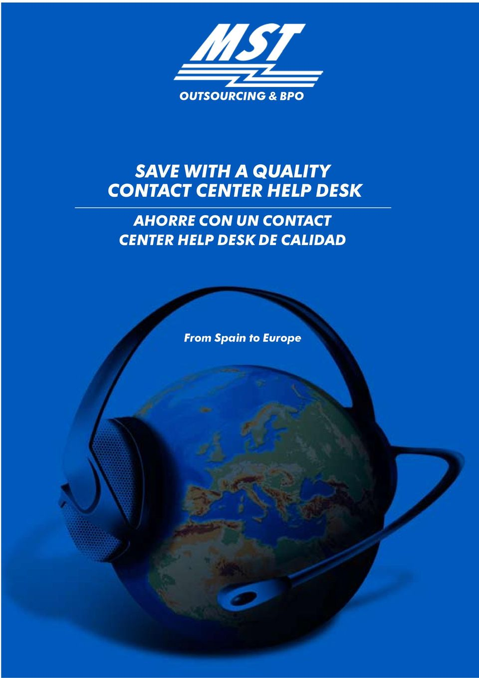 AHORRE CON UN CONTACT CENTER HELP