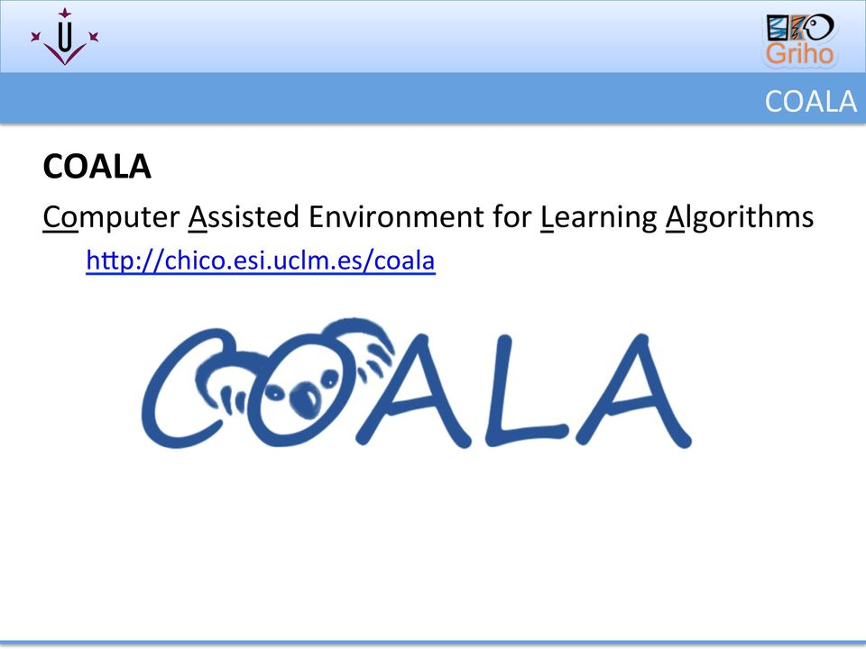 for Learning Algorithms